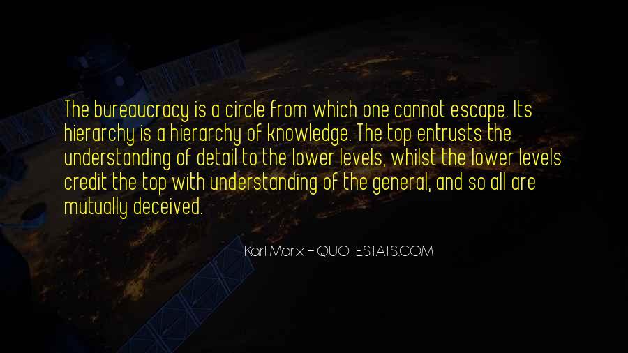 Marx Bureaucracy Quotes #1588574