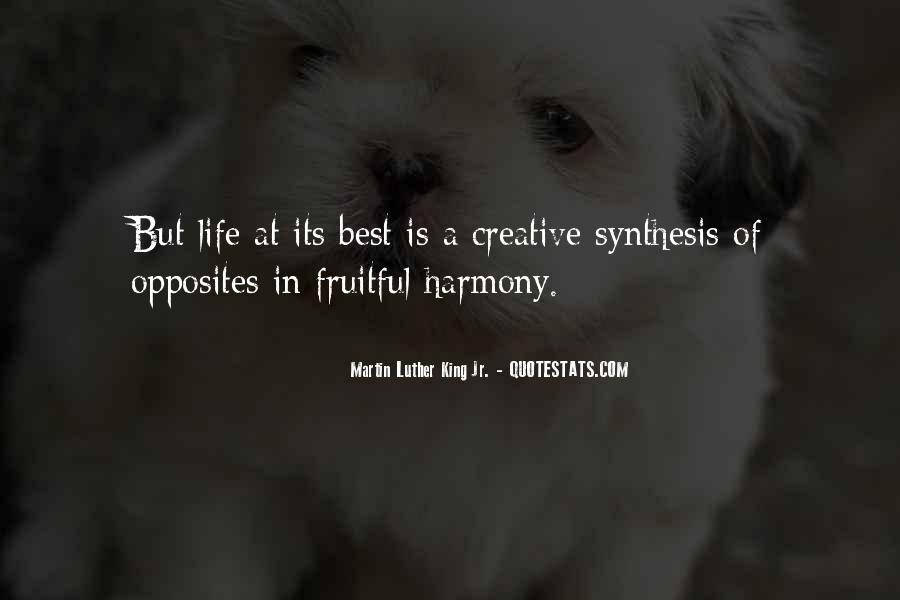 Quotes About Creative Life #102429