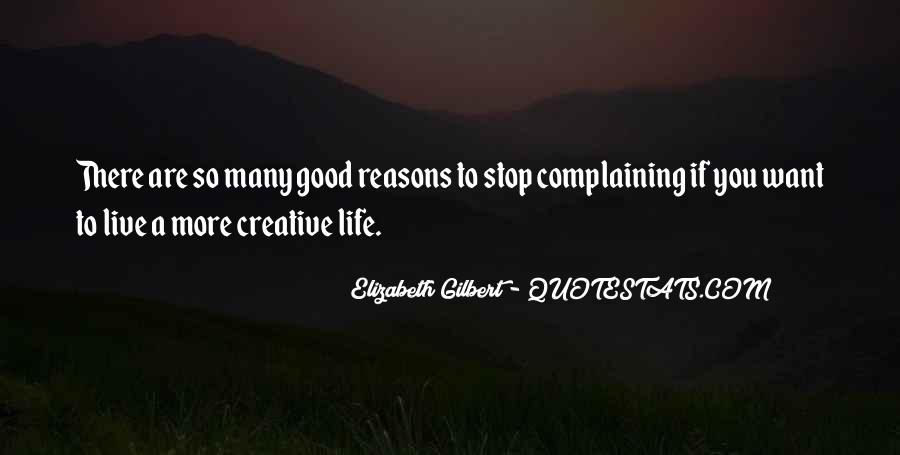 Quotes About Creative Life #138955