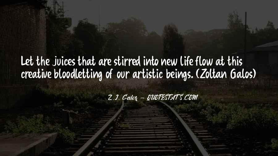 Quotes About Creative Life #166579