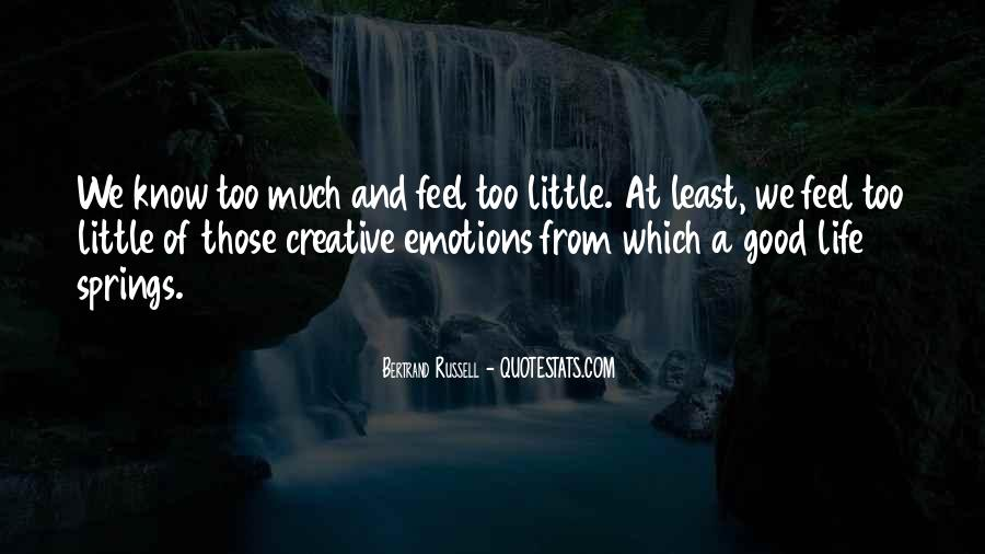 Quotes About Creative Life #260769