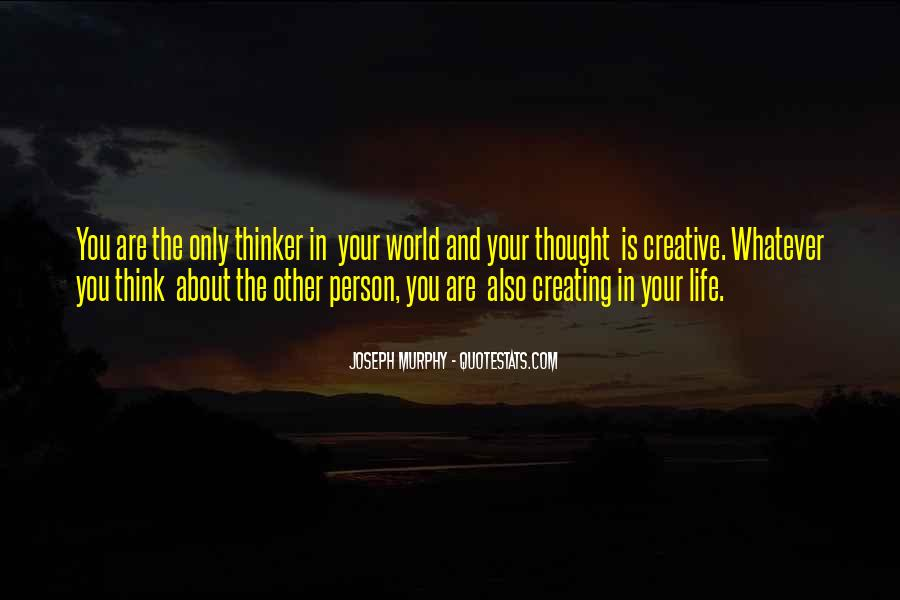 Quotes About Creative Life #316440