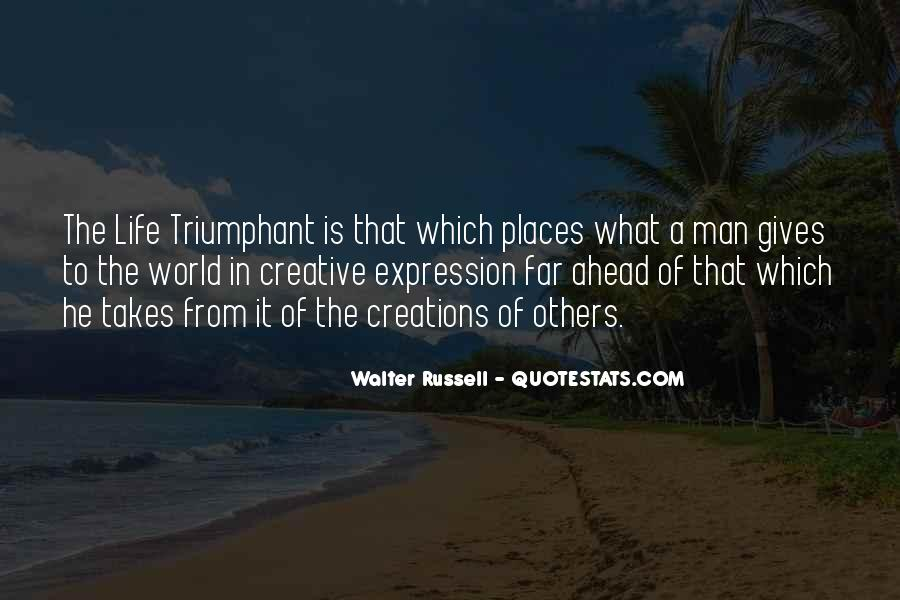 Quotes About Creative Life #7763