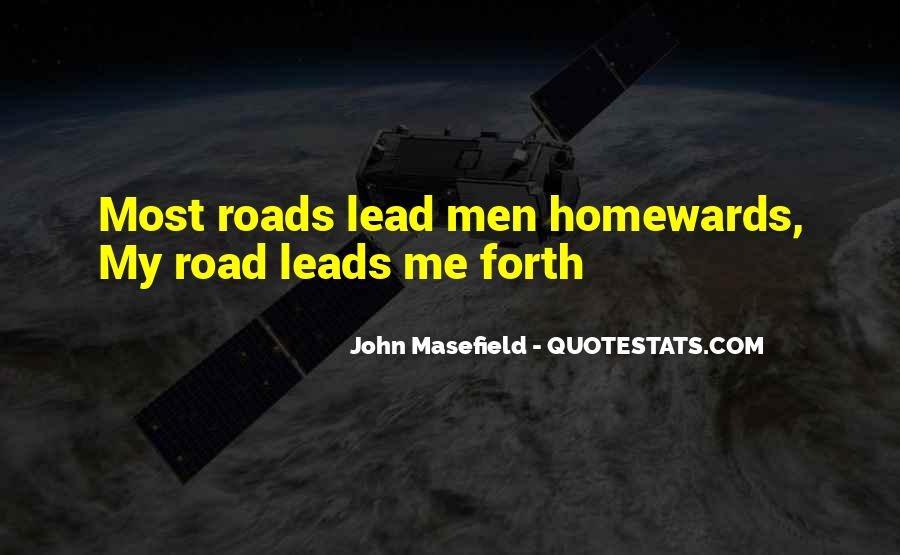 Masefield Quotes #1022139