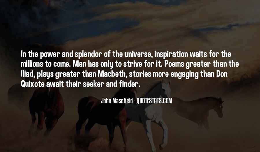 Masefield Quotes #1066394