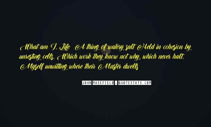 Masefield Quotes #1818865