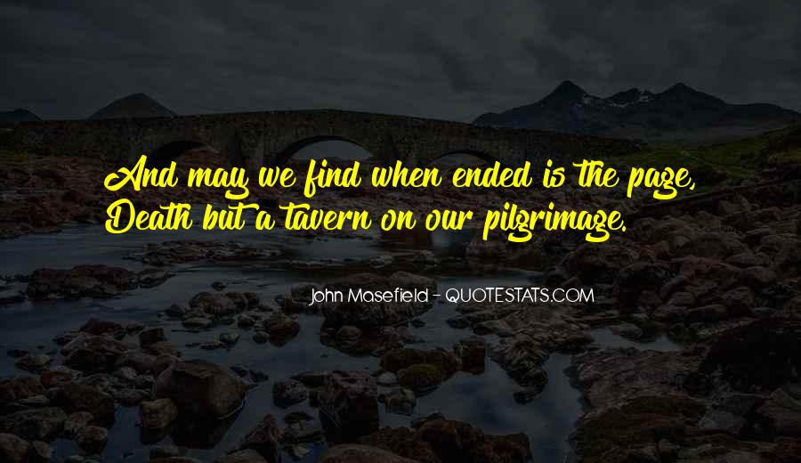Masefield Quotes #627589