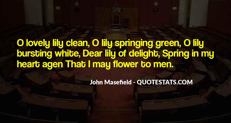 Masefield Quotes #679833