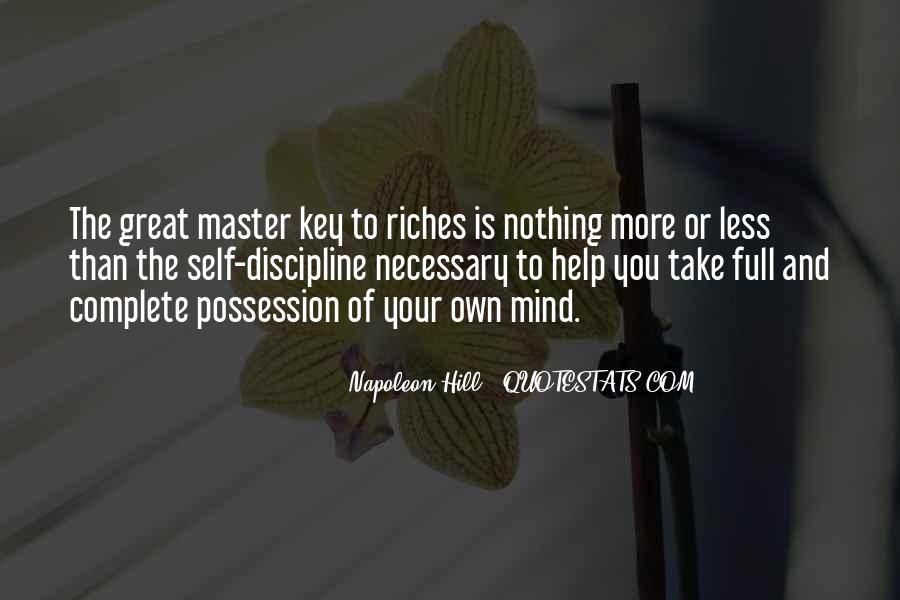 Top 10 Master Key To Riches Napoleon Hill Quotes Famous