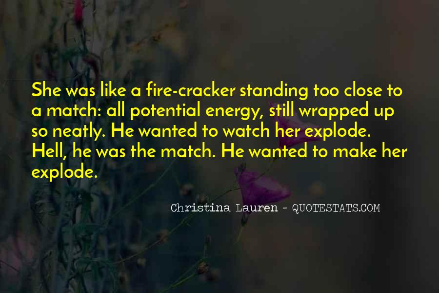 Quotes About Cracker #1476002