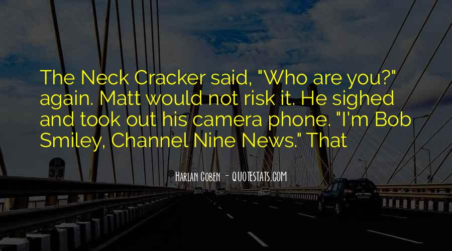 Quotes About Cracker #777606