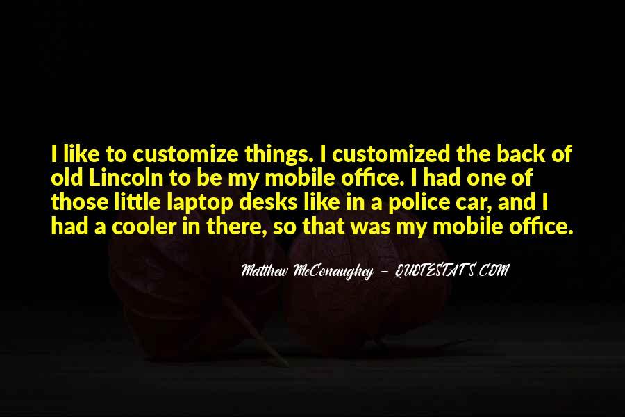 Matthew Mcconaughey Lincoln Quotes #841957