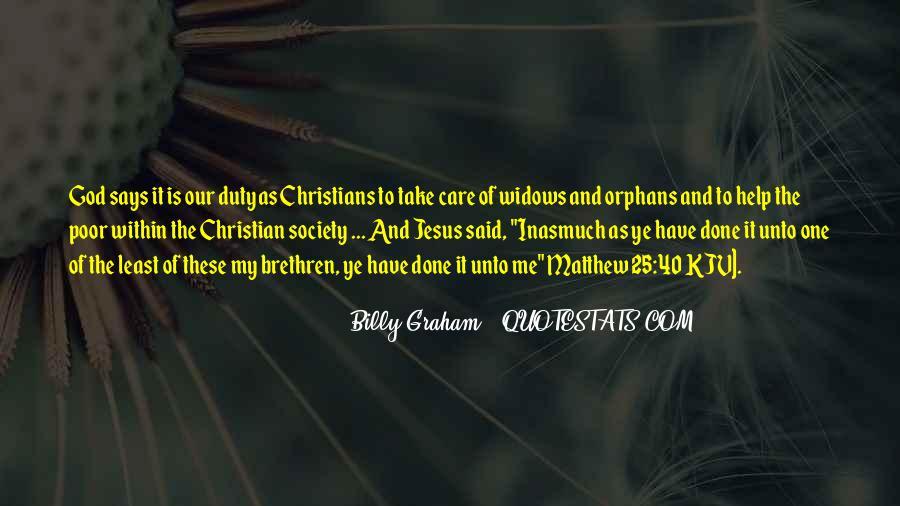 Matthew The Poor Quotes #1080106