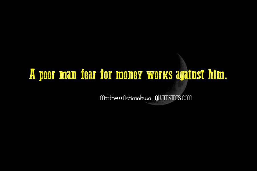 Matthew The Poor Quotes #1288484