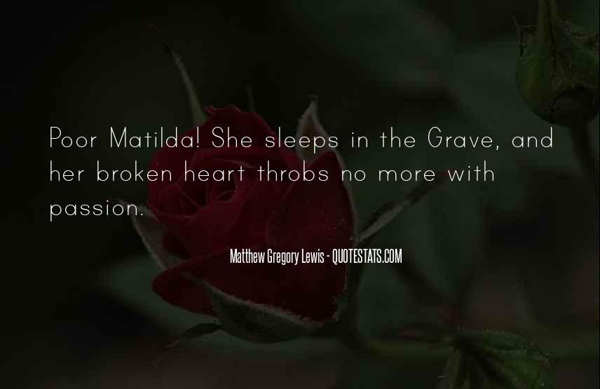 Matthew The Poor Quotes #1326661