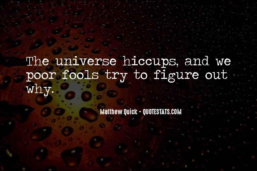 Matthew The Poor Quotes #1387811
