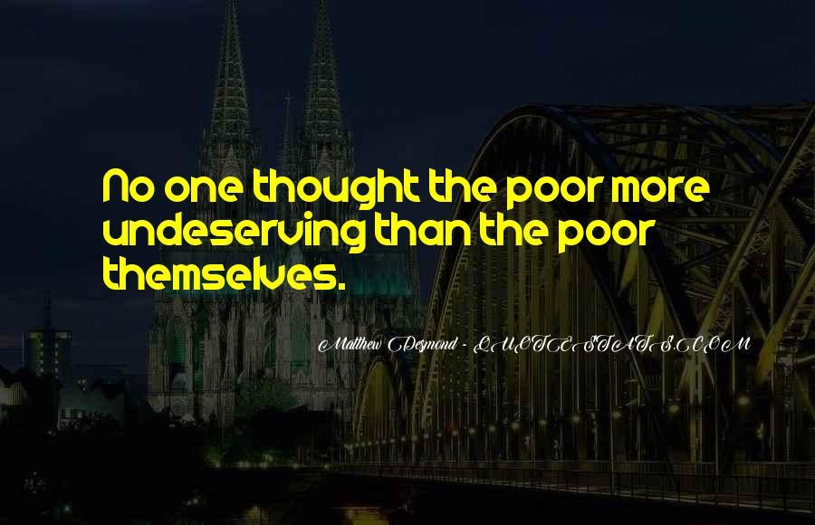 Matthew The Poor Quotes #1636624