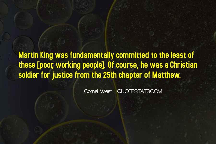 Matthew The Poor Quotes #1779322