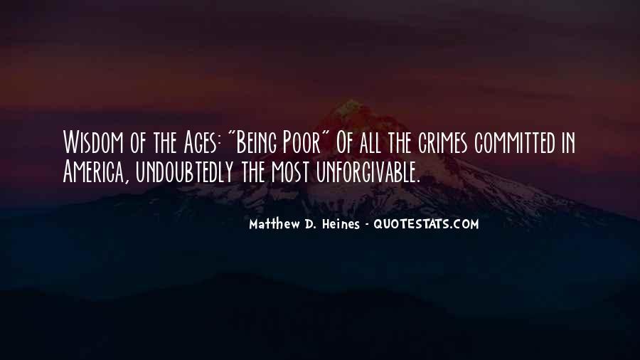 Matthew The Poor Quotes #22037