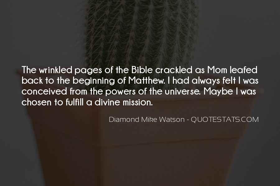 Matthew's Bible Quotes #1174492