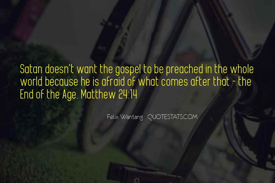 Matthew's Bible Quotes #1348685
