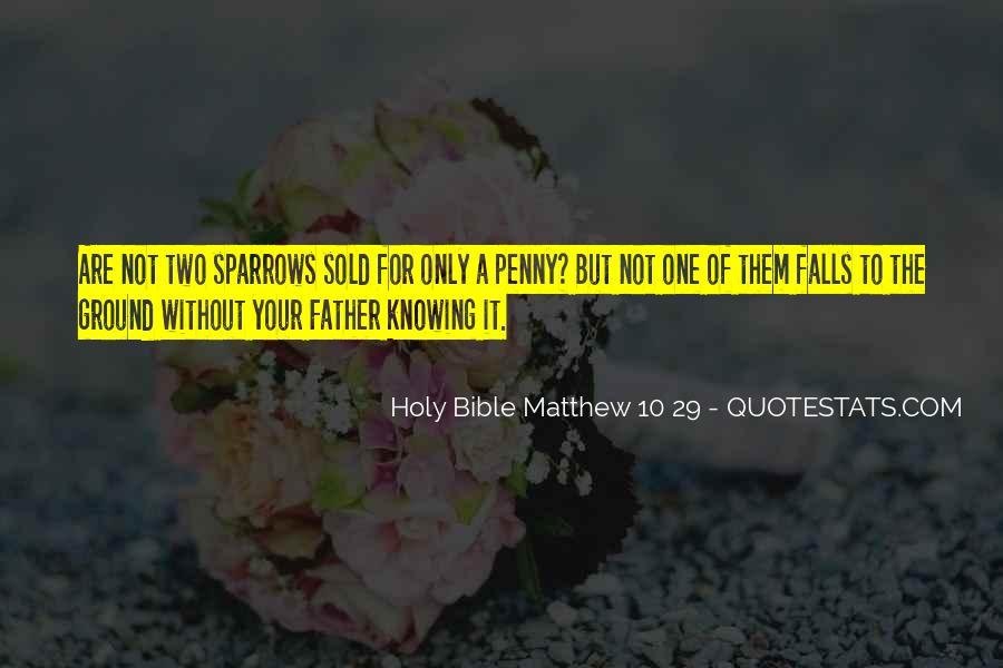 Matthew's Bible Quotes #1599441