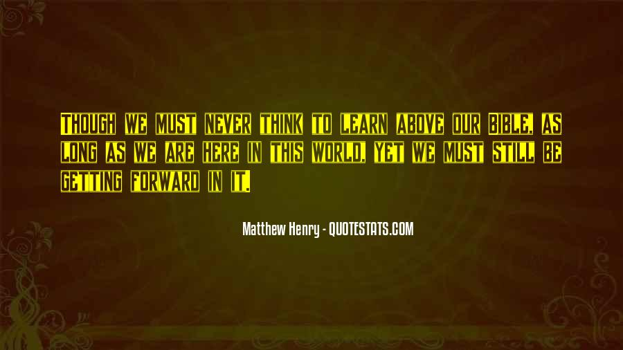 Matthew's Bible Quotes #198133