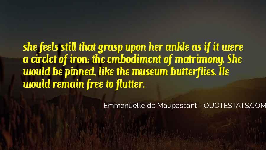 Maupassant Quotes #139021