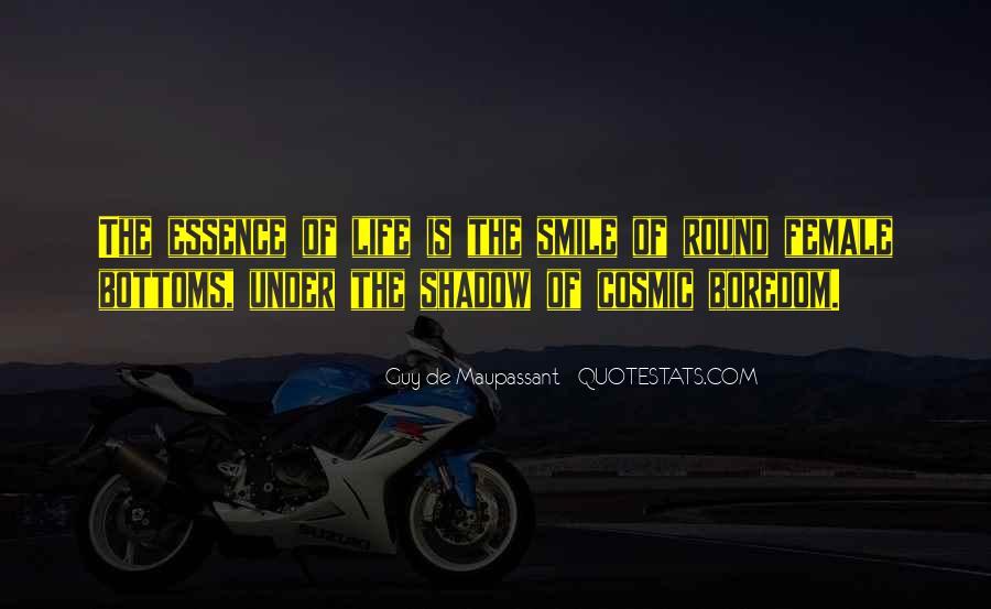 Maupassant Quotes #211973