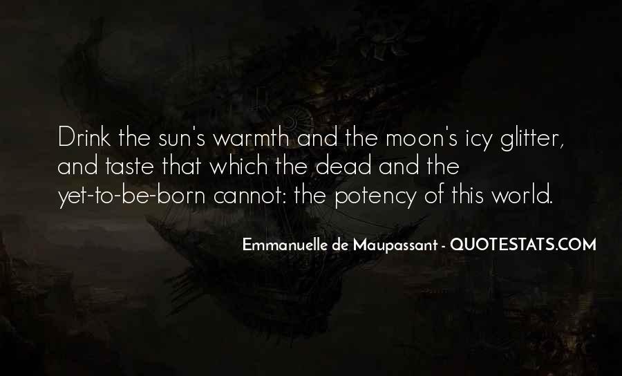 Maupassant Quotes #2518