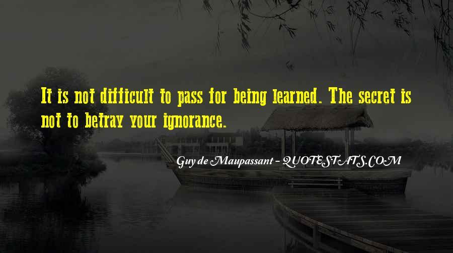 Maupassant Quotes #457037