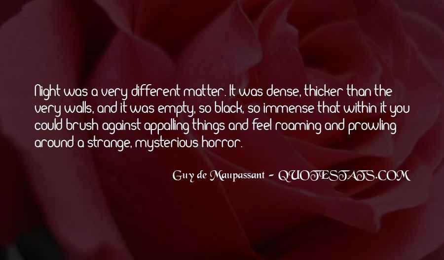 Maupassant Quotes #48488
