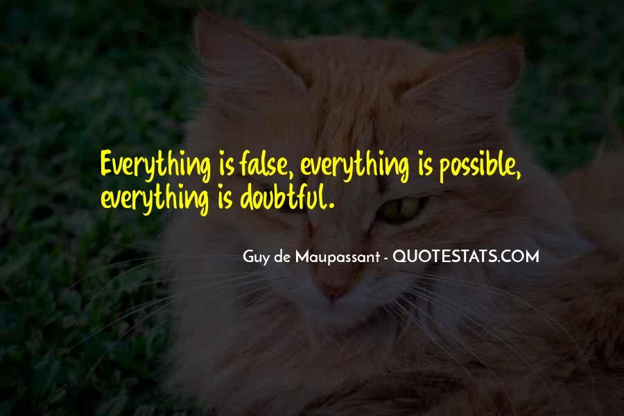 Maupassant Quotes #697989