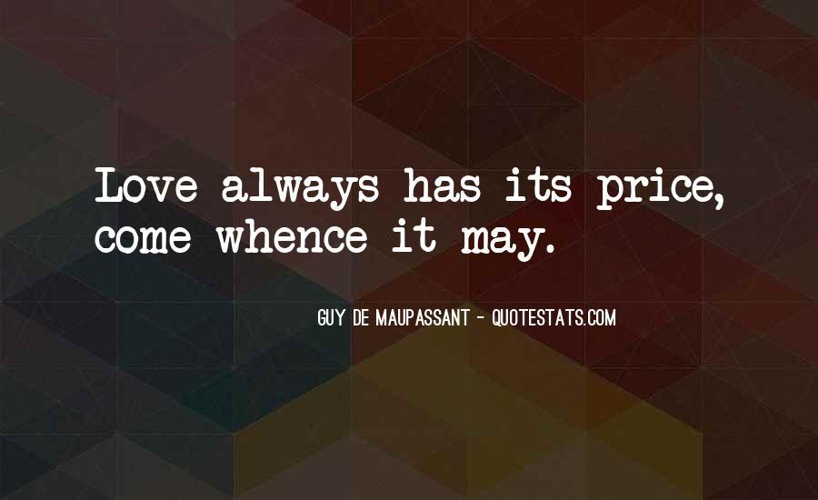 Maupassant Quotes #764150