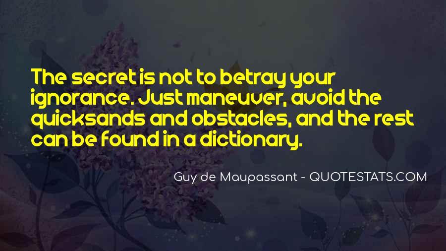 Maupassant Quotes #777533
