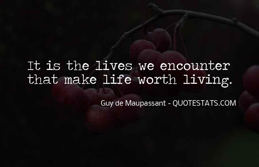 Maupassant Quotes #82718