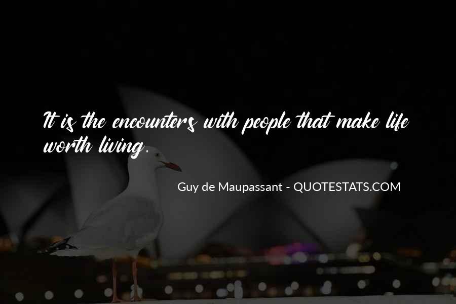 Maupassant Quotes #839180