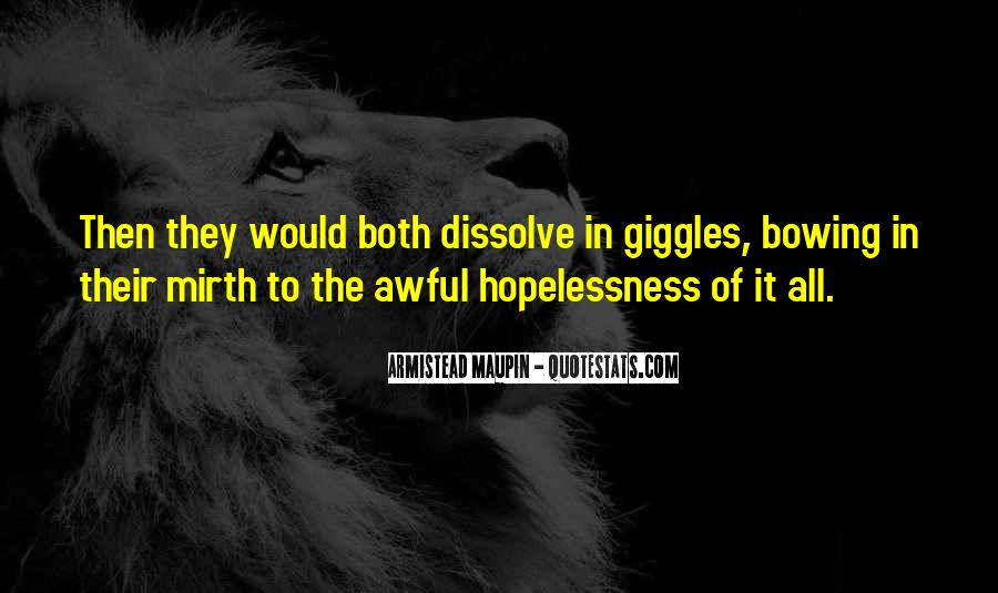 Maupin Quotes #110356
