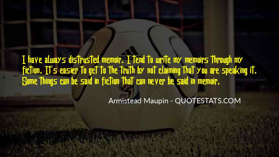 Maupin Quotes #539290