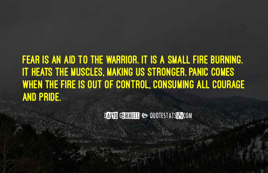 Quotes About Courage Under Fire #1595414