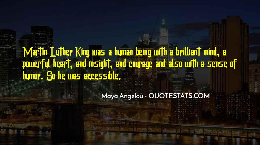 Quotes About Courage Martin Luther King #1092290
