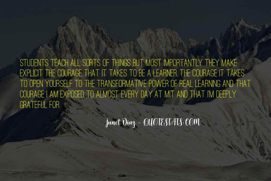 Quotes About Courage And Learning #1053808