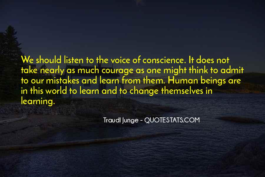 Quotes About Courage And Learning #1223412