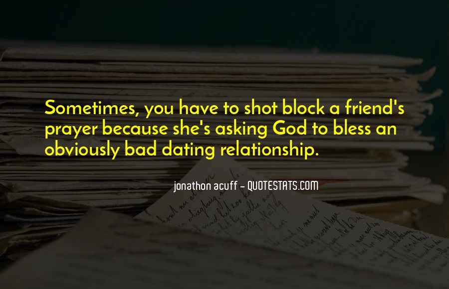 May God Bless Our Relationship Quotes #642818