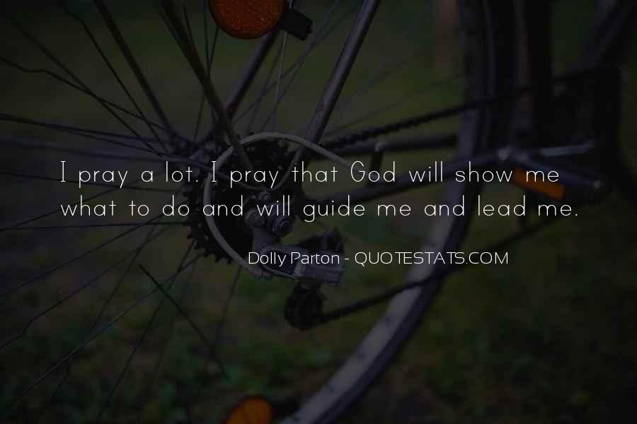 May God Guide Us Quotes #245930