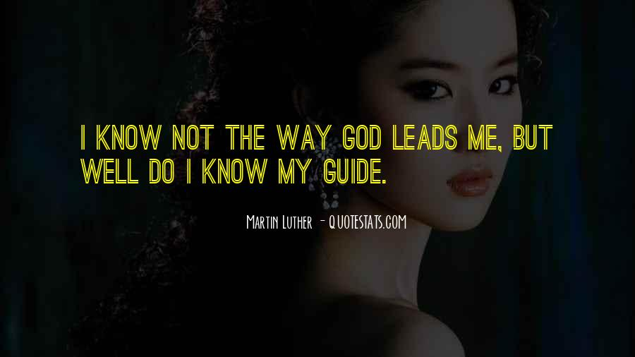 May God Guide Us Quotes #337709