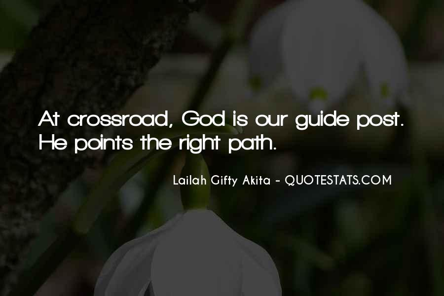 May God Guide Us Quotes #510236
