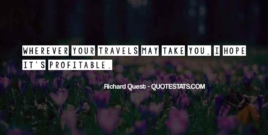 May Your Travels Quotes #1057922