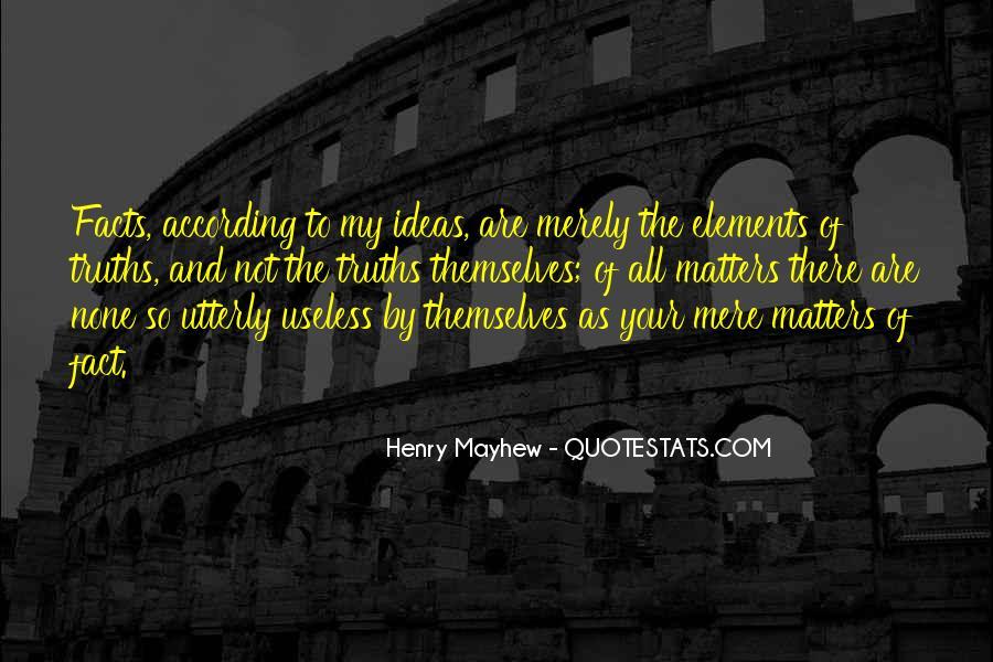Mayhew Quotes #1070928