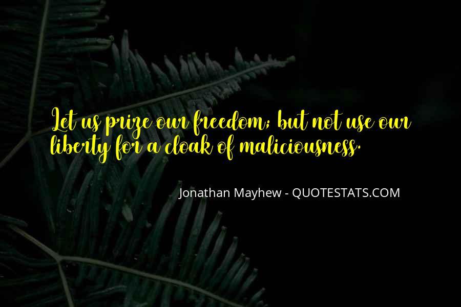 Mayhew Quotes #1118442